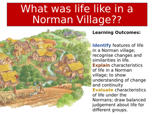 Life in a Norman village