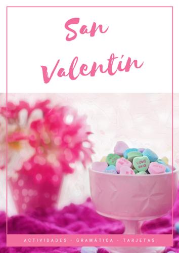 Valentine's Day (Spanish unit) / San Valentín - Juegos y actividades en español