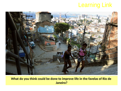 8.URBAN ISSUES + CHALLENGES:RIO-improving the favelas