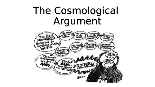AQA Metaphysics of God - the cosmological argument - whole topic