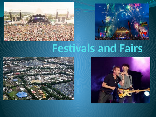 Festivals & Fairs GCSE English Language Question 5