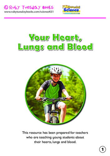 Your heart, lungs and blood booklet