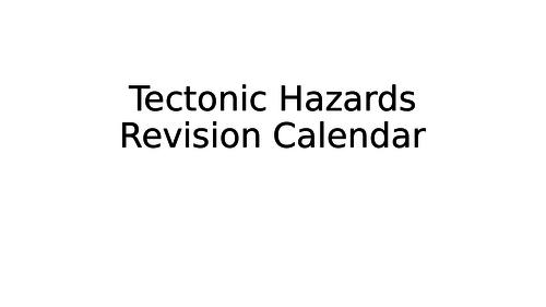 Eduqas GCSE Revision - Tectonic Hazards