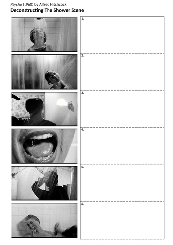 Psycho - Lesson: The Shower Scene Deconstruction