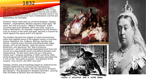 Basic powerpoint presentation of the life and reign of Queen Victoria.