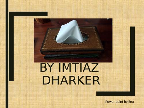 AQA Tissue  annotated  poem