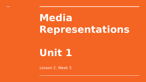 Media Representations - Re-Presenting Theory (Hall)