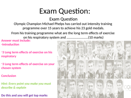 Cambridge technical sport level 3 Question of Sport unit 1