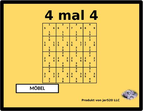 mobel furnishings in german 4 by 4
