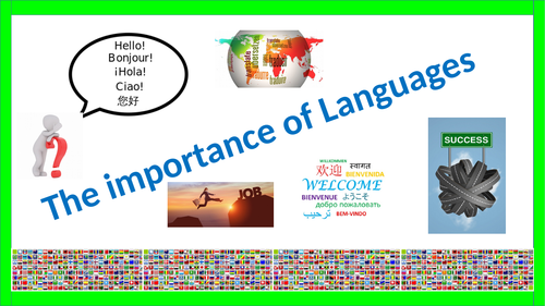 Why study a language? (career options)