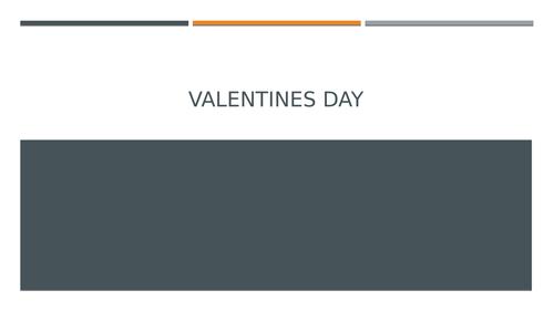 persuasive writing-Valentine's Day
