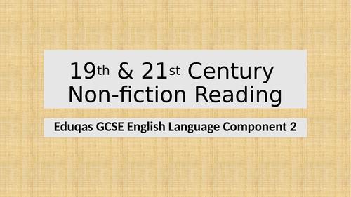 Reading Non-fiction - Eduqas GCSE English Language Component 2 Section A