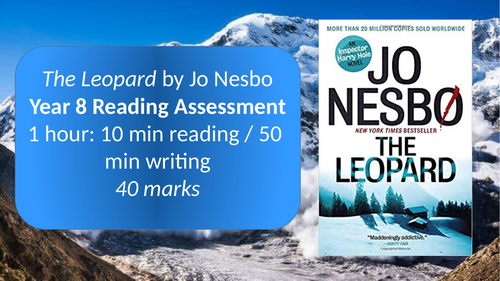 Year 8 Reading Assessment - The Leopard