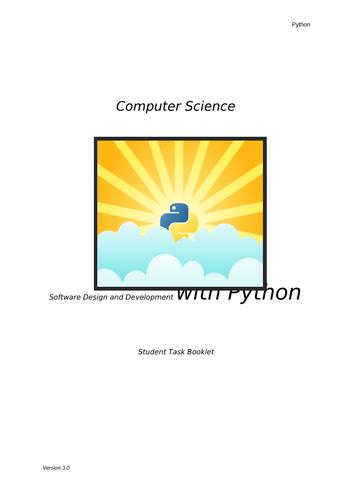 GCSE Python Student Task Booklet