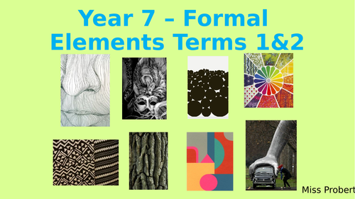 Formal Elements SOW