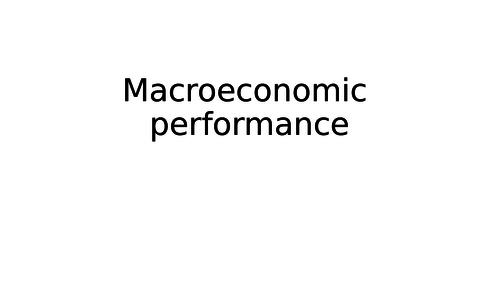 6a. A2 Macroeconomics - Macroeconomic performance - unemployment