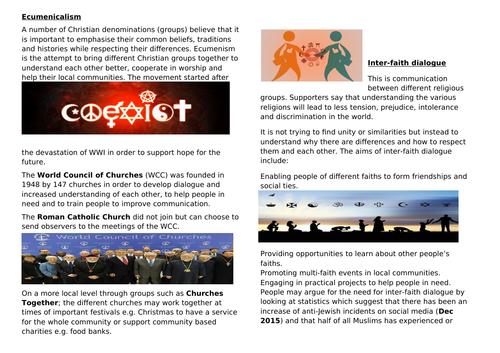 OCR RS Inter-faith dialogue