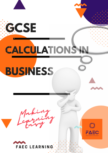 GCSE Business - Calculations in Business Studies