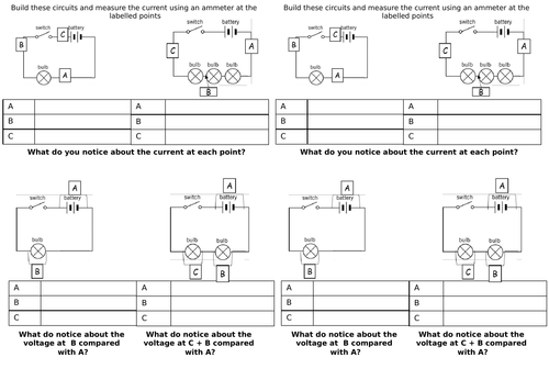 AQA Series circuits for GCSE
