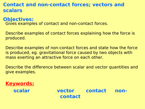 AQA Physics New GCSE (Paper 2 Topic 1) – Forces and their interactions (4.5) ALL  LESSONS
