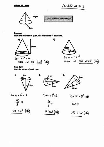 Intro Pyramids, Cones, Spheres, Sectors, Arcs