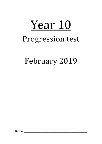 Progression Maths Test+Answers (IGCSE/GCSE): Straight line and Travel graphs, Limits of accuracy ...