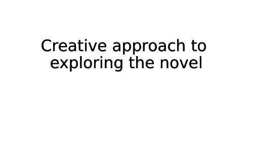 Creative approach to exploring key ideas in Jekyll and Hyde