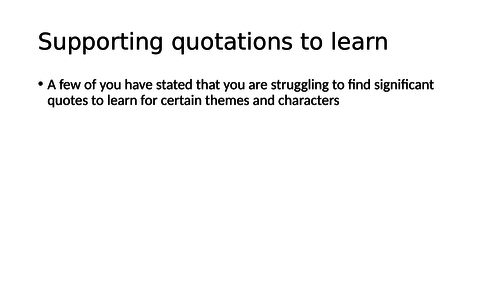AQA Romeo and Juliet key quotations - memory learning