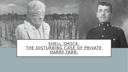 Shell Shock in The First World War: The Case of Private Harry Farr (Top Seller!)
