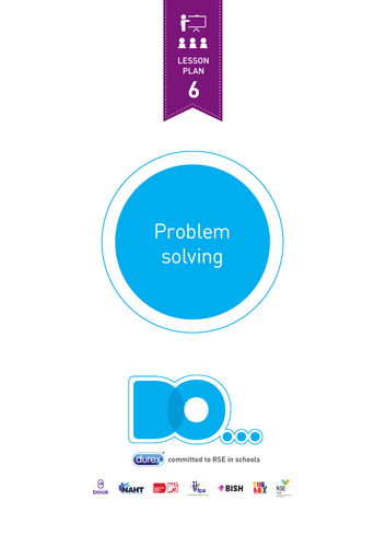 Bringing the basics of RSE together by problem solving - Lesson plan 6
