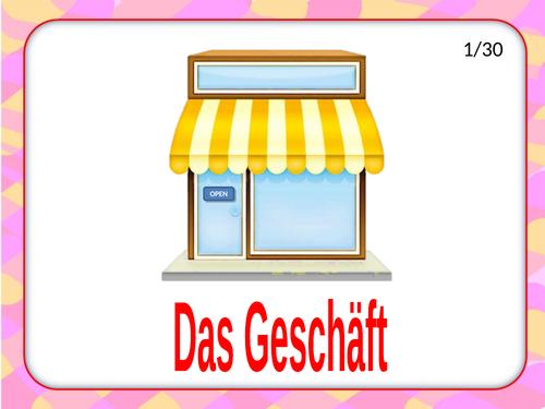Einkaufen / Shopping / Shops