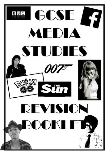 EDUQAS (WJEC) MEDIA STUDIES GCSE 9-1 REVISION GUIDE/ MOCK EXAM QUESTIONS BOOKLET COMPONENT 1 AND 2