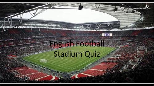 English Football Ground Quiz
