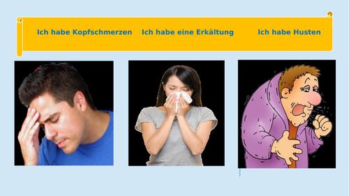 Illness / Doctor / Pharmacy / Treatment / Krankheit / Behandlung / Arzt / Apotheke
