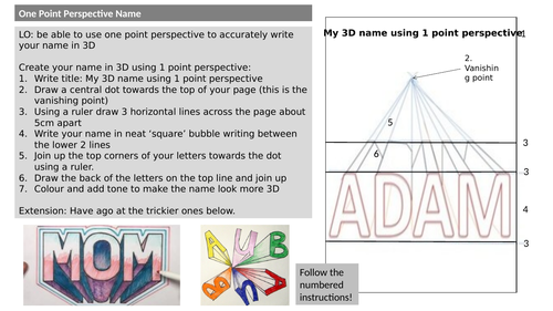 Cover lesson task-1point perspective name