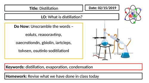KS3 Chemistry - Distillation