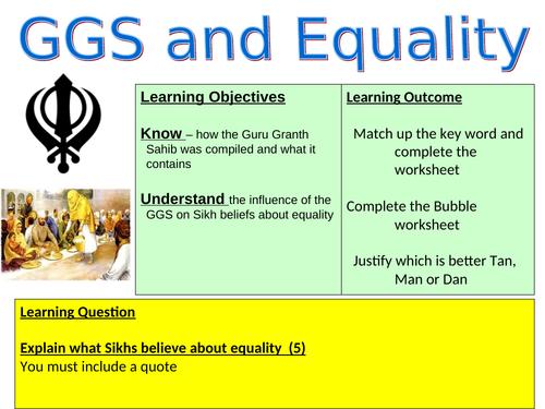Guru Granth Sahib and Equality