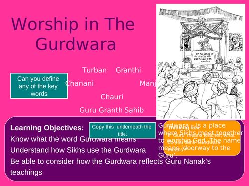 The Gurdwara-