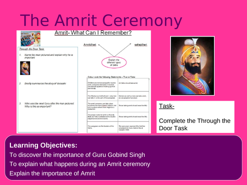 The Amrit Ceremony