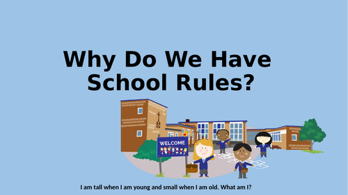 Why We Have School Rules Assembly