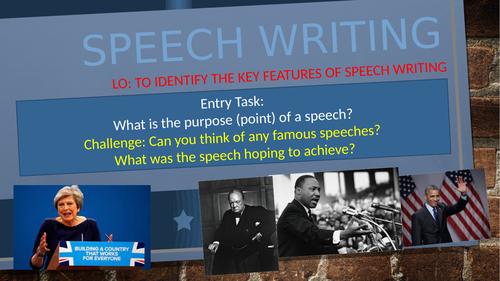Transactional writing - Speech scheme (Metacognition approach)