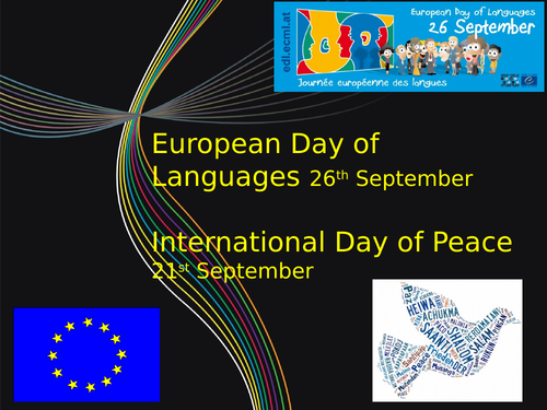 European Day of Languages- resources