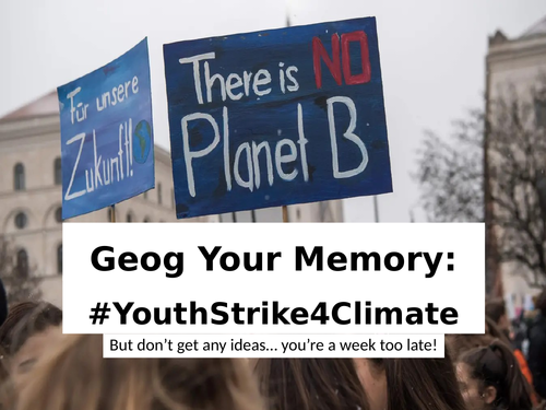 #YouthStrike4Climate
