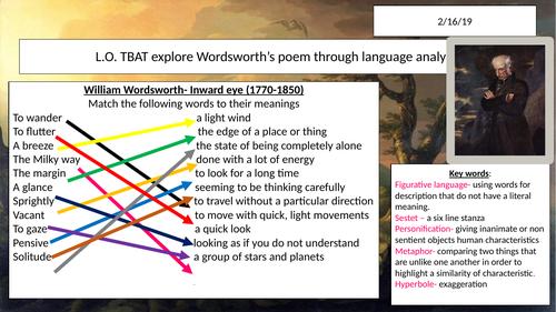 William Wordsworth's Daffodils (Poetry)