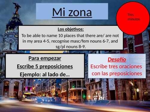 Viva Book 1 Unit 5 Mi ciudad