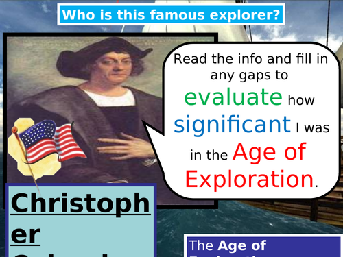 Age of Exploration Christopher Columbus