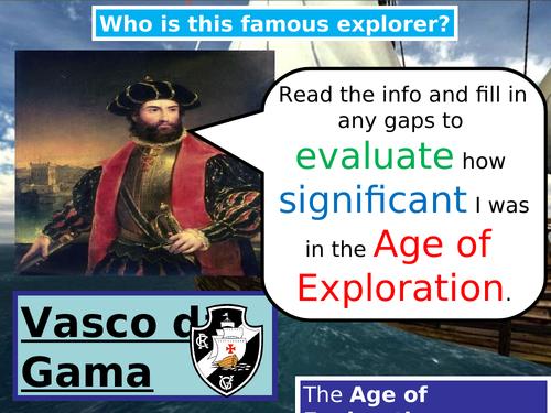 Age of Exploration Vasco da Gama