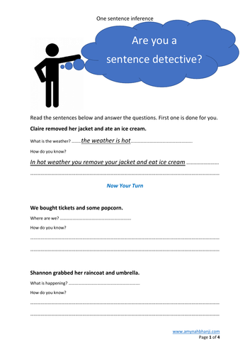 Year 3 - Sentence Detective