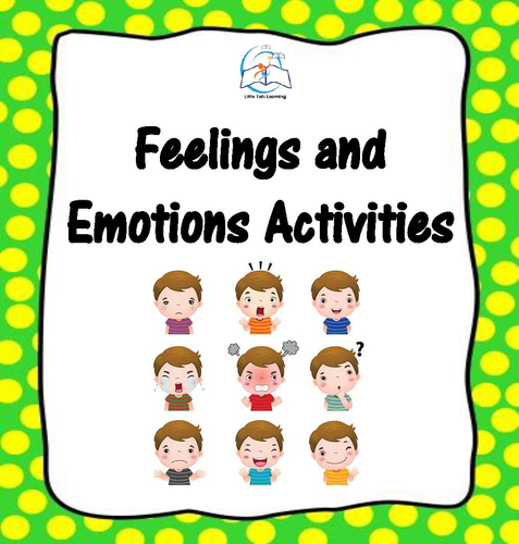 Feelings and Emotions Activities and Games