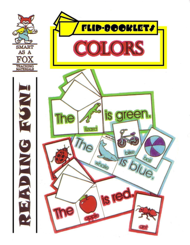 Colors Flip Booklets